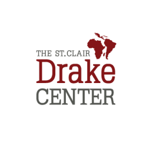 A redesign of the St. Clair Drake Center's logo