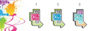 OrigAudio's 'Spring Forward Tour' Logo