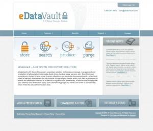 New logo/branding/website for eDataVault